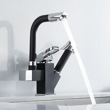 Modern Kitchen 360° Swivel Spout Sink Mixer Taps With Pull Out Bidet Spray Tap