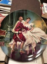 Edwin Knowles The King and I Collectible Plate Shall We Dance William Chambers