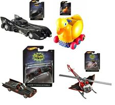 Hot Wheels Batman 1:50 Scale Lot of 4.