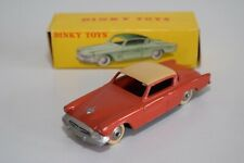 LL 1:43 DINKY TOYS 24Y 24 Y STUDEBAKER COMMANDER ORANGE WITH TAN MINT BOXED