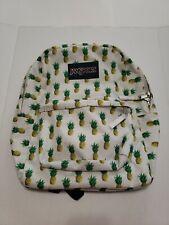 "JanSport 12.5"" Meadow Tropic Gold Pineapple Print Backpack"