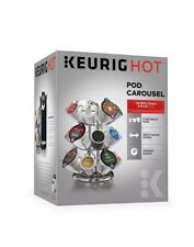 Keurig Pod Carousel, Silver BRAND NEW NEVER USED