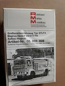 MERLAU.Feuerwehr.Frankfurt.Bausatz.Selten.Magirus.Deutz.GTLF.6.RMM.