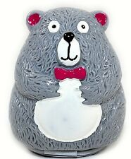 NEW Cute Bear Lip Balm Pot Coconut Flavour Sealed Moisturising Novelty party bag