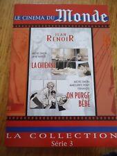 DVD ** LA CHIENNE + ON PURGE BEBE ** RENOIR SIMON MONDE 3 LOT