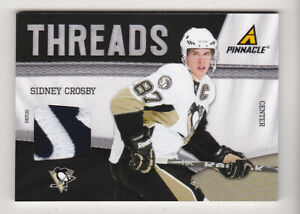 11-12 Pinnacle Sidney Crosby /25 PATCH Threads Penguins 2011