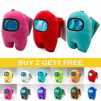 Among Us Game Plush Soft Stuffed Toy 4'' Doll Game Figure Role Plushie Kids Gift