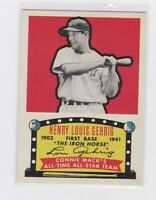 2019 TOPPS SERIES 2 LOU GEHRIG ICR-55 ICONIC CARD New York YANKEES