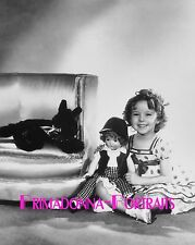 """SHIRLEY TEMPLE 8X10 Lab Photo 1934 """"STAND UP AND CHEER"""" Doll Sweetheart Portrait"""