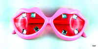 Brille Deluxe Diamant Disco gold Fasching Karneval Party