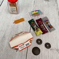 2006 Re-ment Miniatures Mom & Pop Candy Shop Store #1 Nostalgia Dagashi