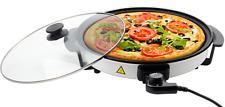 Royalty Line Elektrische Partypfanne 1500W Ø 40cm Pizzapfanne