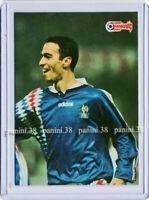 "RARE !! Card YOURI DJORKAEFF ""EUROPEAN CHAMPIONSHIP STARS 1996"" Panini"