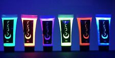 Body Paint UV Blacklight Glow, Neon 6 color set, 10mL, Fluorescent Face by LUNA