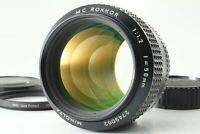 【N MINT】 Minolta MC Rokkor 58mm F/1.2 Late Model MF Lens For MD Mount From Japan