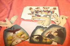 Replica 1890 Shadow Cards - 2005 by Optical Toys- silhouettes