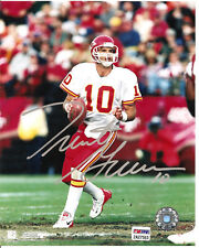TRENT GREEN Chiefs 8X10 Autographed Photo with PSA COA #2A27553