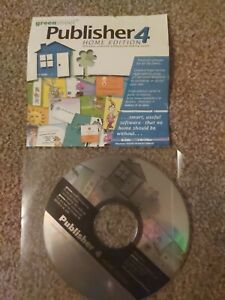 Publisher 4 Home Edition - PC Software - Create Birthday Cards, Business...