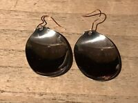 Recycled Flatware Jewelry, Vintage Collection, Spoon Earrings