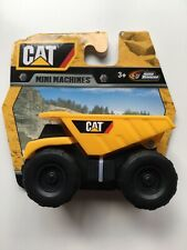 Cat Caterpillar Mini Machines Dump Truck Road Rippers NEW on CARD Age 3+