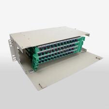 """19"""" 48 core Optical Fiber Distribution Frame SC ODF Port Rack Fiber Patch Pane"""