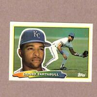 1988 Topps Big Baseball Card #230 Danny Tartabull Kansas City Royals