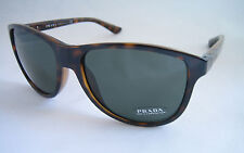 PRADA SUNGLASSES SPR 06O 2AU 3O1 HAVANA BROWN BNWT GENUINE UNISEX