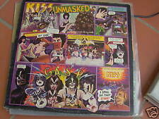 LP KISS UNMASKED ITALY 1980 EX
