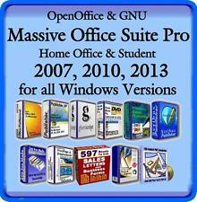 Massive Office Suite with Word/Spell Check~Accounts~Publisher~Clipart & More