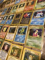 Original Pokemon 20 Card Lot Base Set, Jungle, WOTC, HOLO, SHADOWLESS, 1ST ED.