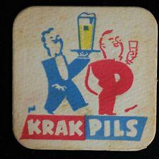 Sous-bock Krak Pils bierviltje bierdeckel coaster