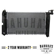 MANUAL RADIATOR FOR A TOYOTA COROLLA, AVENSIS 1.4 1.6 1.8 02-09 2YR WARRANTY NEW
