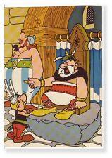 Uderzo Goscinny Asterix RARE carte postale 1975 Dargaud 2