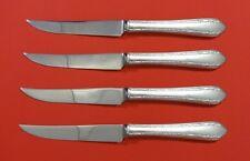 Wild Flower by Royal Crest Sterling Silver Steak Knife Set 4pc HHWS  Custom