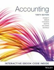 NEW Accounting 10th Edition By John Hoggett Paperback Free Shipping