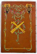 Les Églogues VIRGILE 1906 ill. GIRALDON 2 dessins originaux RELIURE ART NOUVEAU