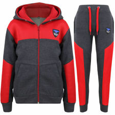 Abbigliamento rossi senza marca in poliestere per bambini dai 2 ai 16 anni