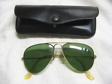 Rare! 1960s USAF Issue Bausch Lomb Ray Ban Aviator Sunglasses F-105 Wild Weasel