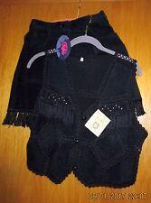 Sexy Leder-Kombination: Shorts/Weste-Designermarke BUFFALO-Gr.34-neu