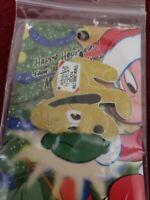 WDW - Happy Holidays 2004 Pin Pursuit Pluto Plush LE 2000 Disney Pin 35269
