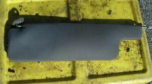 77-81 Datsun 210 Passenger Right Gray Vinyl Sun Visor - Genuine OEM