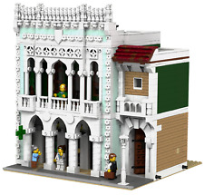 LEGO Modular Old Pharmacy and Library MOC instructions 10182 10190 10185 10197