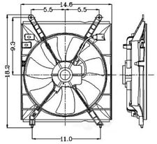 Engine Cooling Fan Assembly Global 2811358