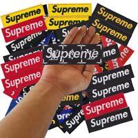 Iron On Patch Embroidered Wholesale Supreme Brand Logo Hypebeast Fashion Random