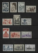 FRANCE nice group of 1945-46 values all MH & gum CV?
