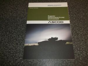Armored Tracked Vehicle Brochure ASCOD General Dynamics 2011 Military Defense
