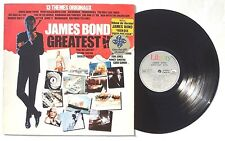 JAMES BOND Greatest Hits LP LIBERTY RECORDS 2C06883238 FRANCE 1982 NM