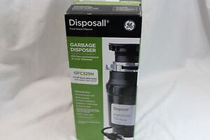 GE Disposall Kitchen Garbage Disposer GFC325N 1/3HP Heavy-Duty Motor Septic Safe