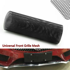 Universal Car Front Grille Mesh Bumper Hood Vent Rhombic Sheet Metal Alloy Net