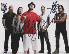 FIVE FINGER DEATH PUNCH GROUP SIGNED PHOTO 8X10 RP AUTOGRAPHED ALL BAND MEMBERS